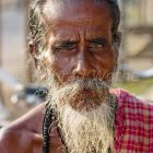 Old indian man, Andaman Islands, India