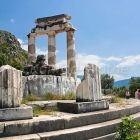 Tholos Temple, Sancutary of Athena, Delphi, Peloponnese, Greece, Europe