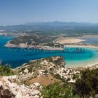 Voidokilia Bay near Pilos, Peloponnese, Greece, Europe