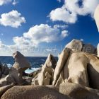rock formation at Capo Testa, Sardinia, Italy