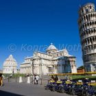 The Leaning Tower of Pisa and dome, Tuskany, Italy