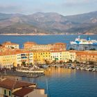 Portoferraio harbour, Island of Elba, Italy