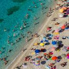 Beach of Tropea, Calabria, Italy; Europe;