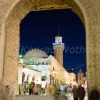 City Gate Bab al Khendig, Old Town, Green Square, Tripoli, Libya, Africa
