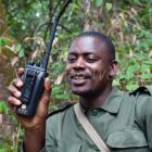 Park Ranger in the rainforest of Mahale Mountains National Park, Tanzania, East Africa